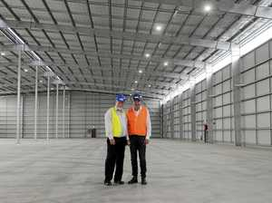 New warehouse facility at Harwood Sugar Mill