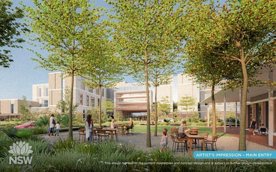 The concept design of the new $534m Tweed Valley Hospital has been revealed.
