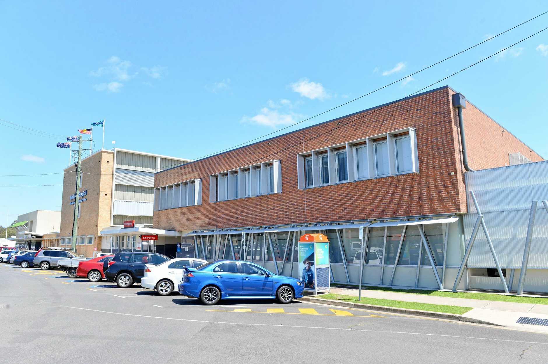 Bundaberg Hospital is on hand for emergencies.