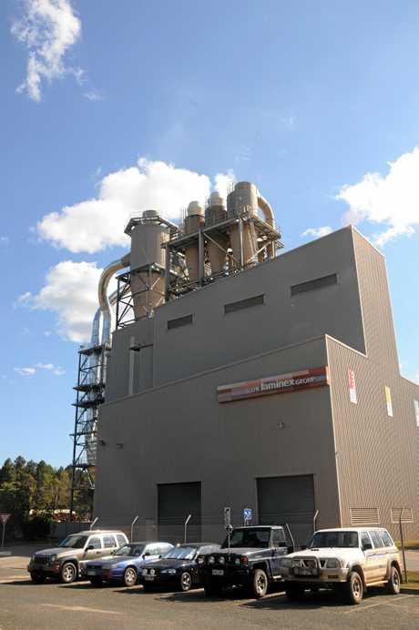 Laminex factory at Goomborian near Gympie