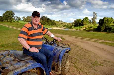 Kenilworth dairy farmer Shane Paulger.