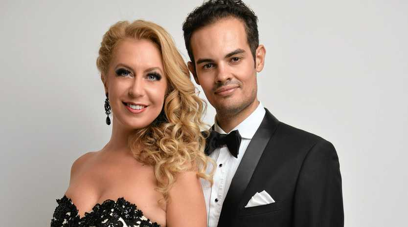 CLASSICAL TREAT: Soprano Judit Molnar and violinist Frank Fodor are returning to Maleny for the Strauss in da Haus concert.