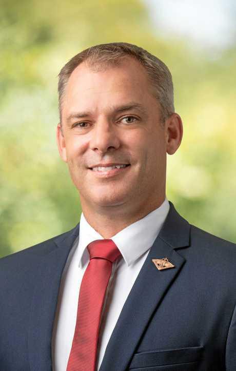 Jason Scanes (Labor) Wide Bay candidate.