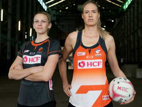 Jo Harten and Caitlin Bassett are certain to be a challenging combination.