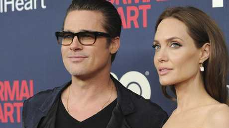 Brad and Angelina were a Hollywood golden couple. Picture: Evan Agostini/Invision/AP, File