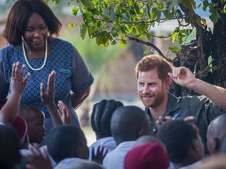 Harry in Botswana in 2017. Picture: Instagram @sussexroyal