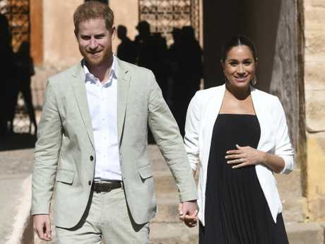 No matter where they go in the world, Harry and Meghan will be noticed. Picture: Facundo Arrizabalaga/Pool Photo via AP, File