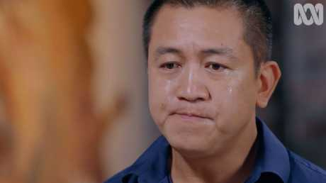 Anh Do was visibly moved by Lindy Chamberlain's story.
