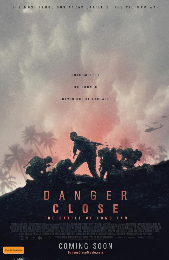 Ahead of the national release in cinemas on August 8, 2019, Transmission Films unveils the poster for Danger Close: The Battle of Long Tan, which was filmed in southeast Queensland.