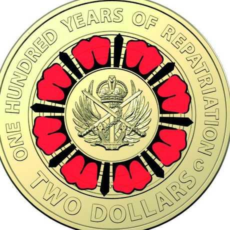 The Royal Australian Mint is releasing a brand new $2 coin. Picture: Royal Australian Mint