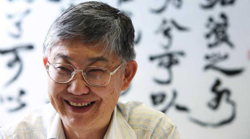 Hong Kong property mogul Wing-Ching Shih is leaving his kids nothing. Picture: Sam Tsang/South China Morning Post via Getty Images