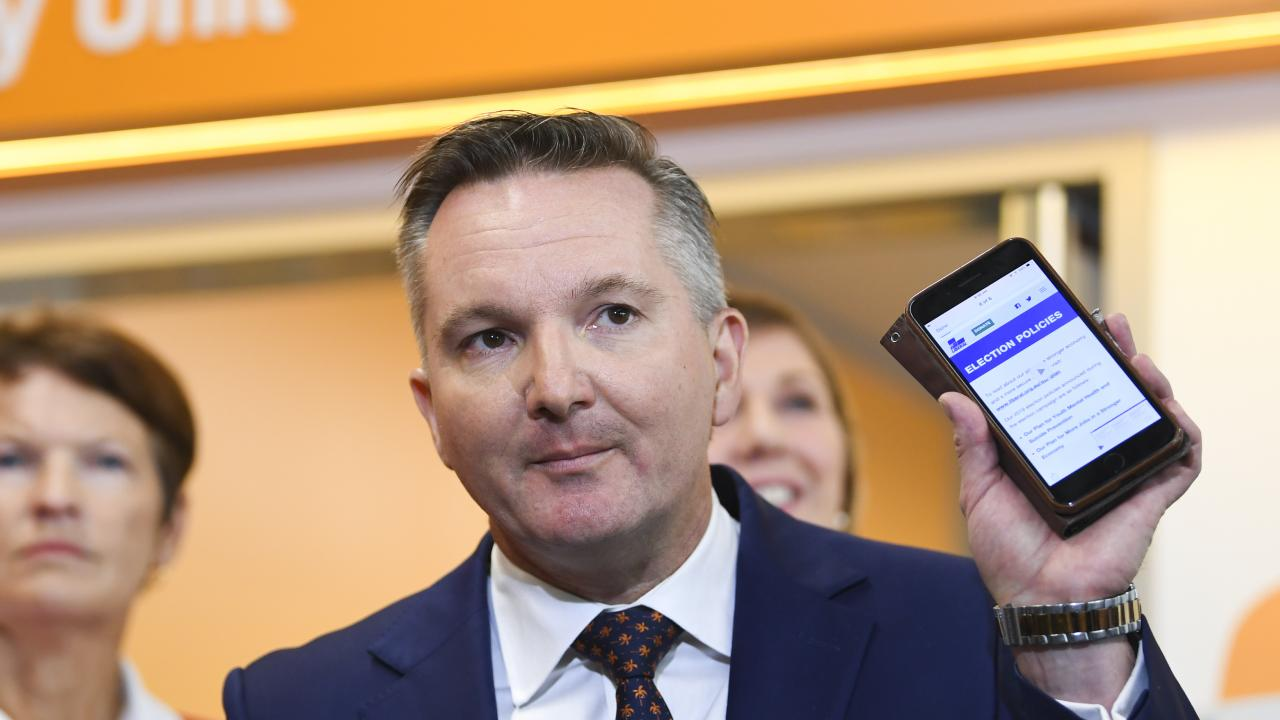 Shadow Treasurer Chris Bowen says you would not allowed share tax refunds if you were starting from scratch.