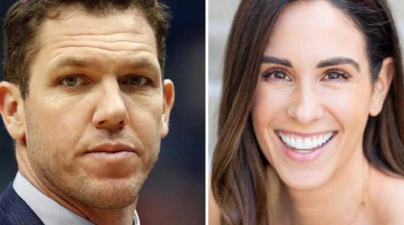 Luke Walton and Kelli Tennant