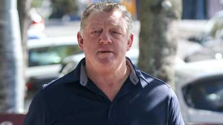 Phil Gould remains upbeat the day after making himself redundant at Penrith Panthers. Picture: Matrix