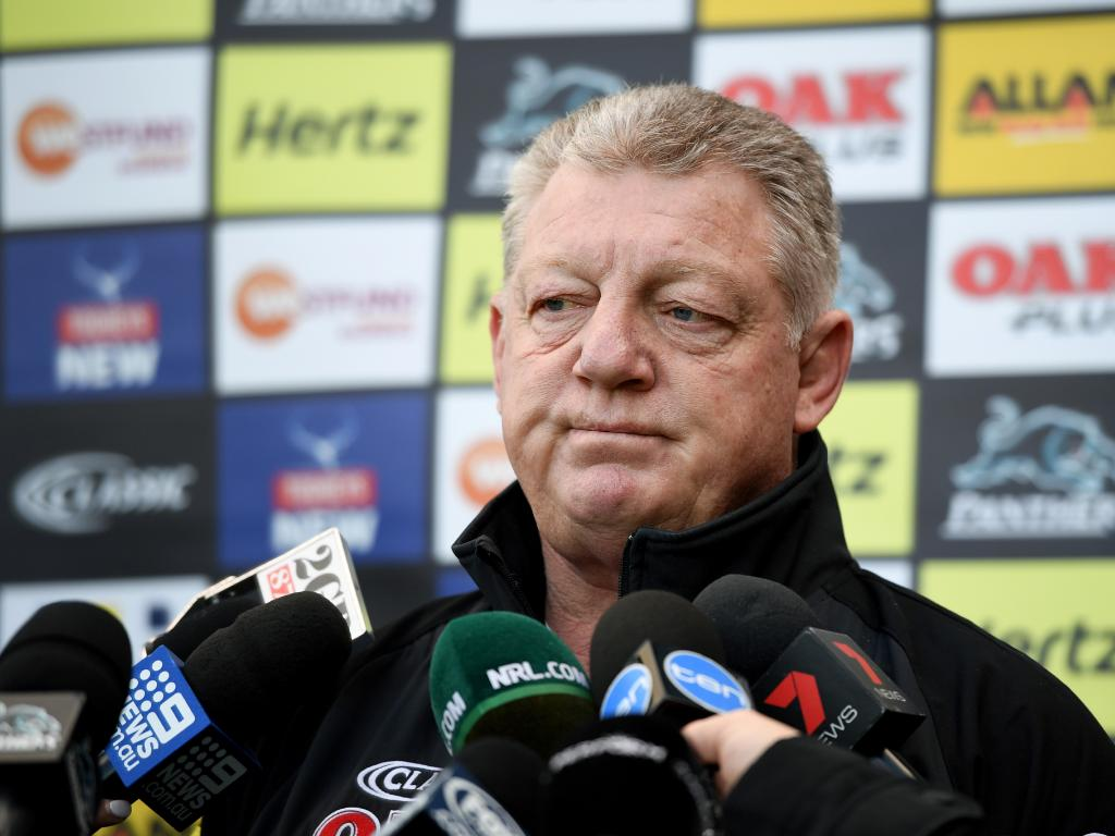 Phil Gould said it wasn't as emotional as he expected to leave the club.