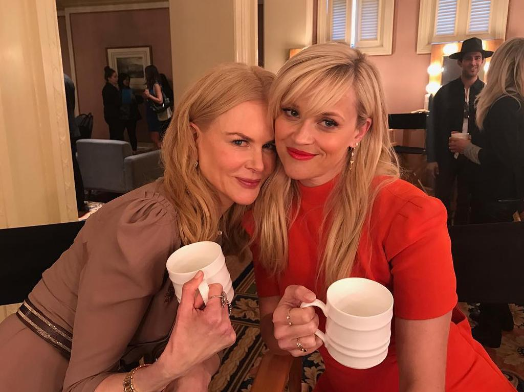 Kidman and Witherspoon have formed a close bond throughout the series. Picture: Supplied