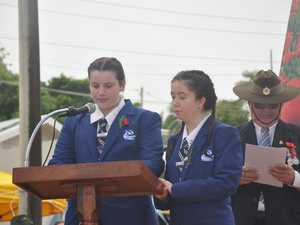 YSH students gave a lovely speech honouring women in