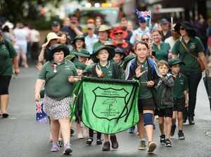 Rockhampton ANZAC Parade.