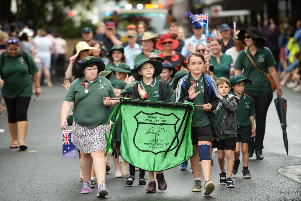 Image for sale: Rockhampton ANZAC Parade.