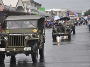 Jeeps, foot, cars and bikes carried veterans through