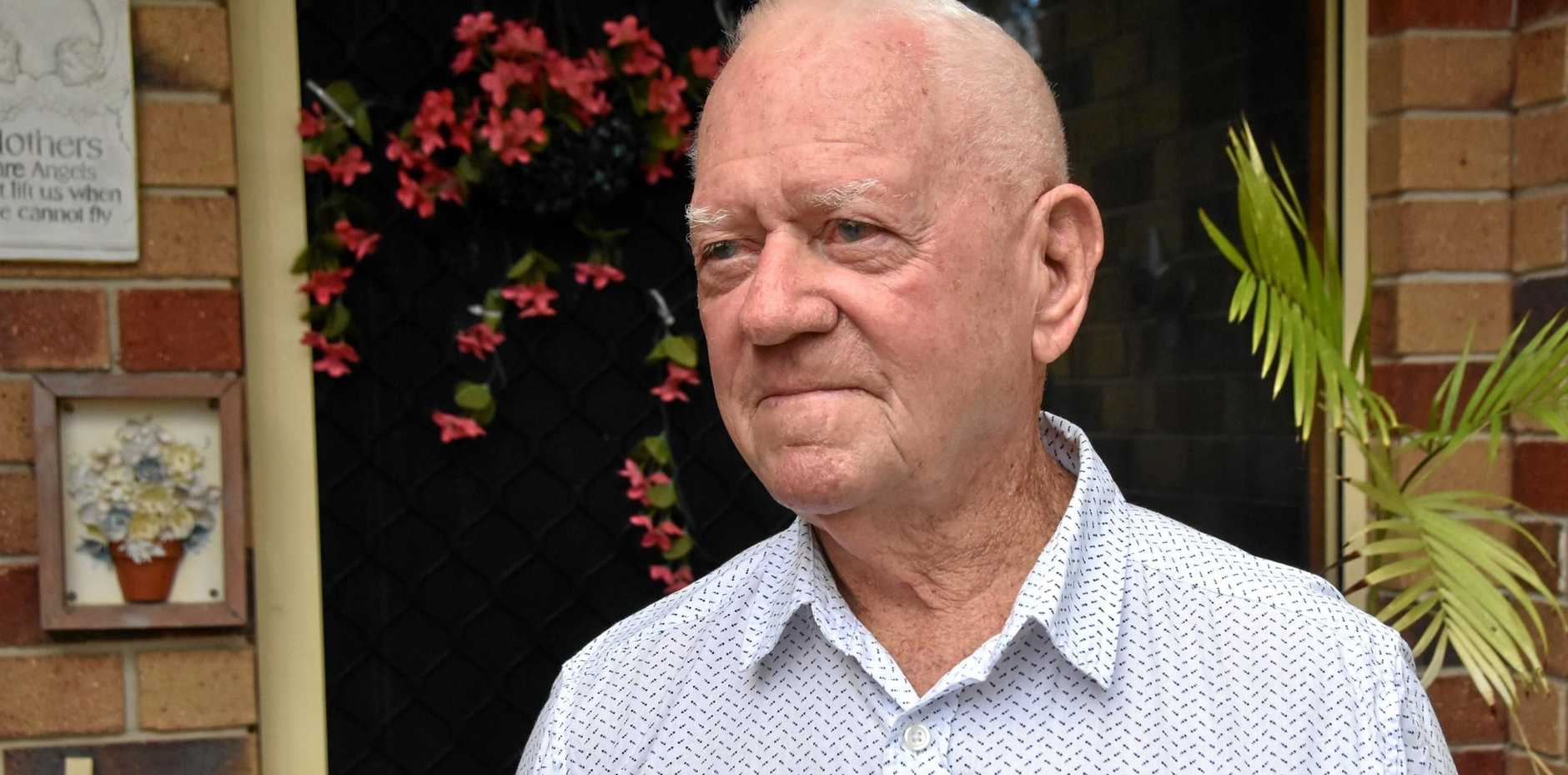 Roy Aiton, who served on the Australia Royal Airforce, will deliver an Anzac Day speech in Gladstone.