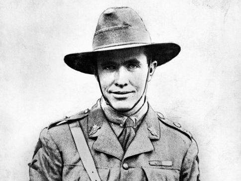 WAR HERO: Lieutenant Edgar Thomas Towner, VC, MC, 2nd Machine Gun Battalion. Lt Towner was awarded the Victoria Cross for