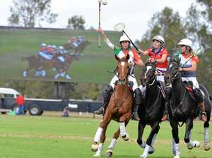 Cup teams in finals mode at the polocrosse