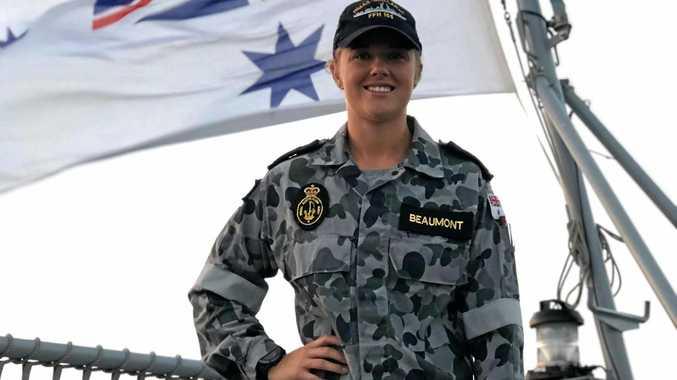 Former Tannum resident's Anzac message from HMAS Ballarat