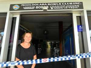 Iconic club bowled down, not out, after devastating fire
