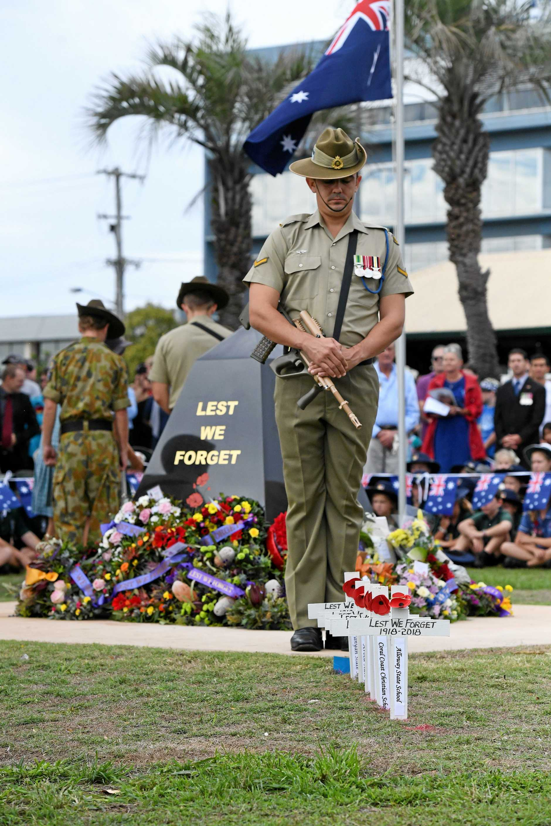 Anzac Day: Bundaberg Civic Service.