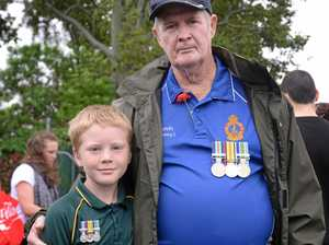 Rocky kids keen to keep the Anzac Day tradition alive