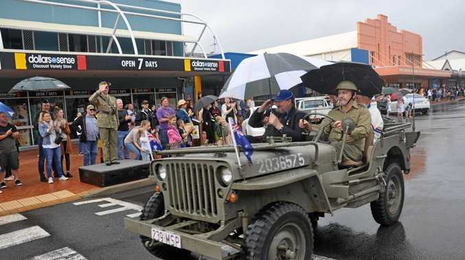 GALLERY: Anzac parade and service at Yeppoon