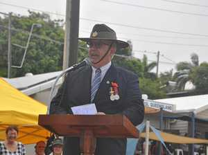 Anzac Day parade at Yeppoon