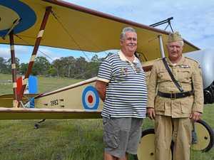 Insight into the flyover for Nanango war hero