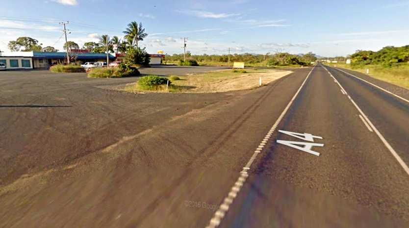 KABRA CRASH: A vehicle has flipped onto its roof in a creek bed near Kabra Pub, west of Rockhampton.