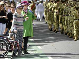 March to Anzac service