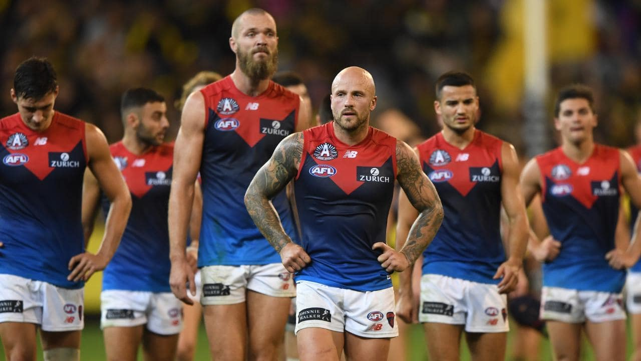 Forlorn Melbourne players will be given time away from the club. Picture: AAP