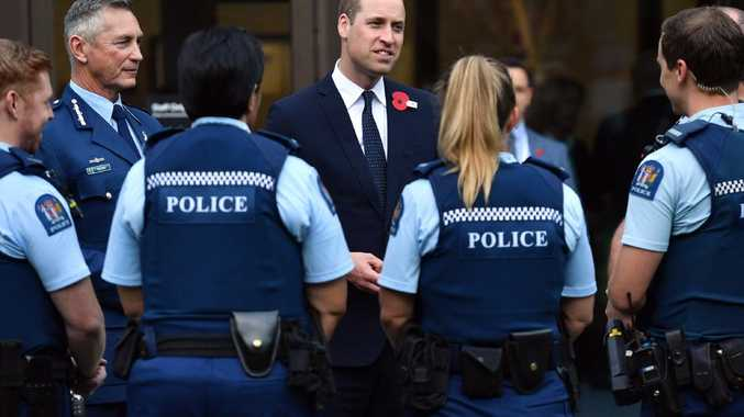 Prince William's touching moment with Christchurch victim