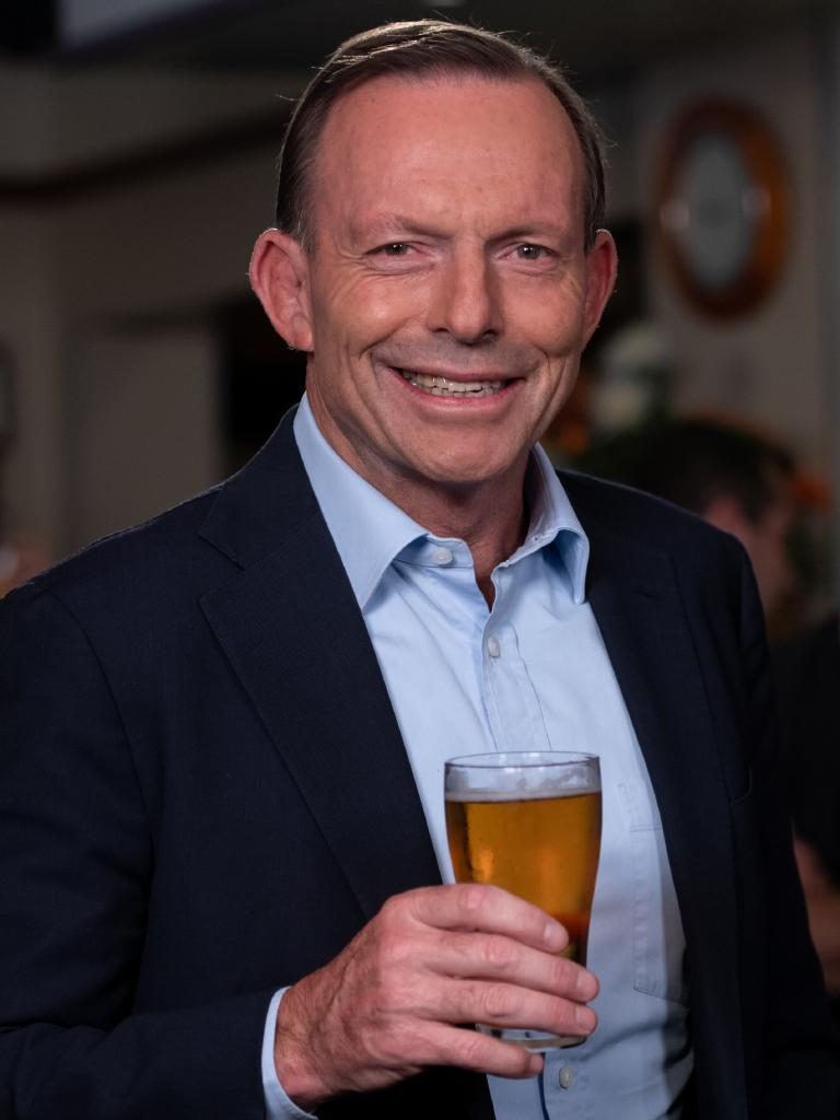 GetUp! has launched a fresh attack on Tony Abbott. Picture: Monique Harmer