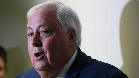 Clive Palmer is reportedly on the verge of making a preference deal with the Coalition. Picture: Lyndon Mechielsen