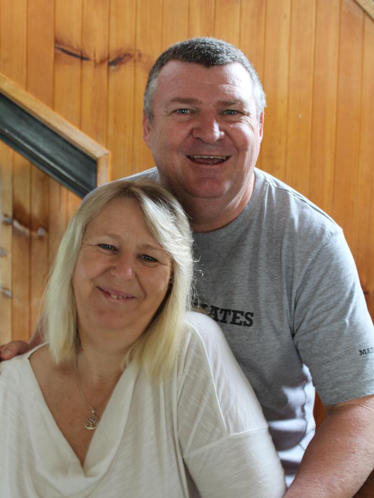 "Christine Rae said she was ""walking on eggshells"" when her husband hit rock bottom with his PTSD. Picture: Ellen-Maree Elliot"