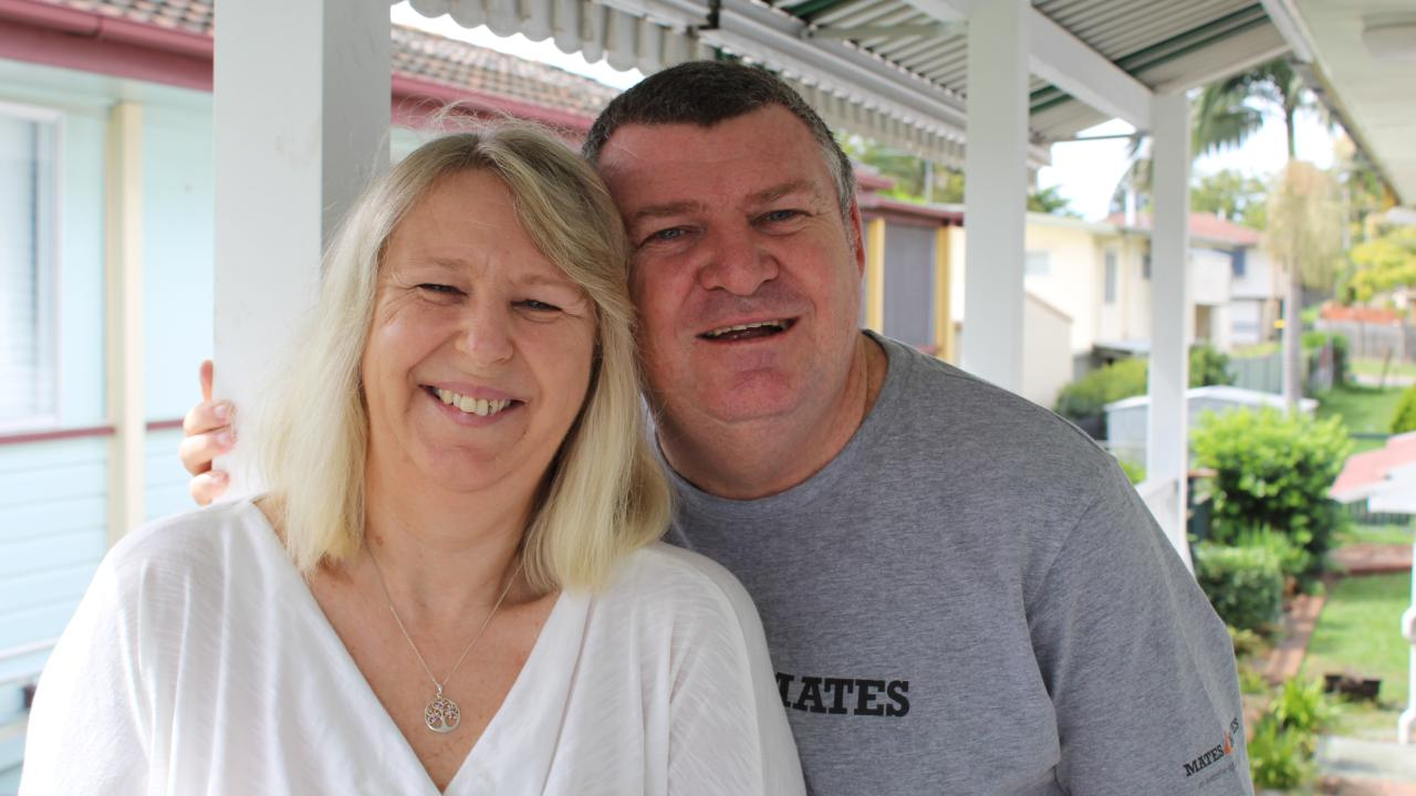 Christine and Darryl Rae say that being involved in Mates 4 Mates has changed their lives. Darryl says it probably saved his. Picture: Ellen-Maree Elliot