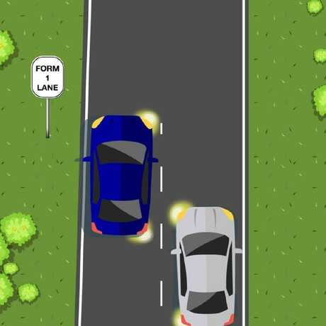 Which car has right of way? Picture: Transport WA