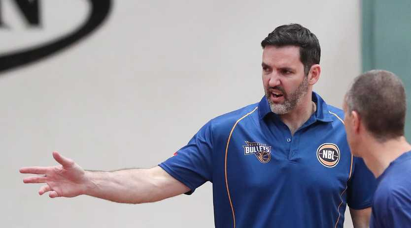 Sam McKinnon will coach the Brisbane Capitals in the QBL this season.