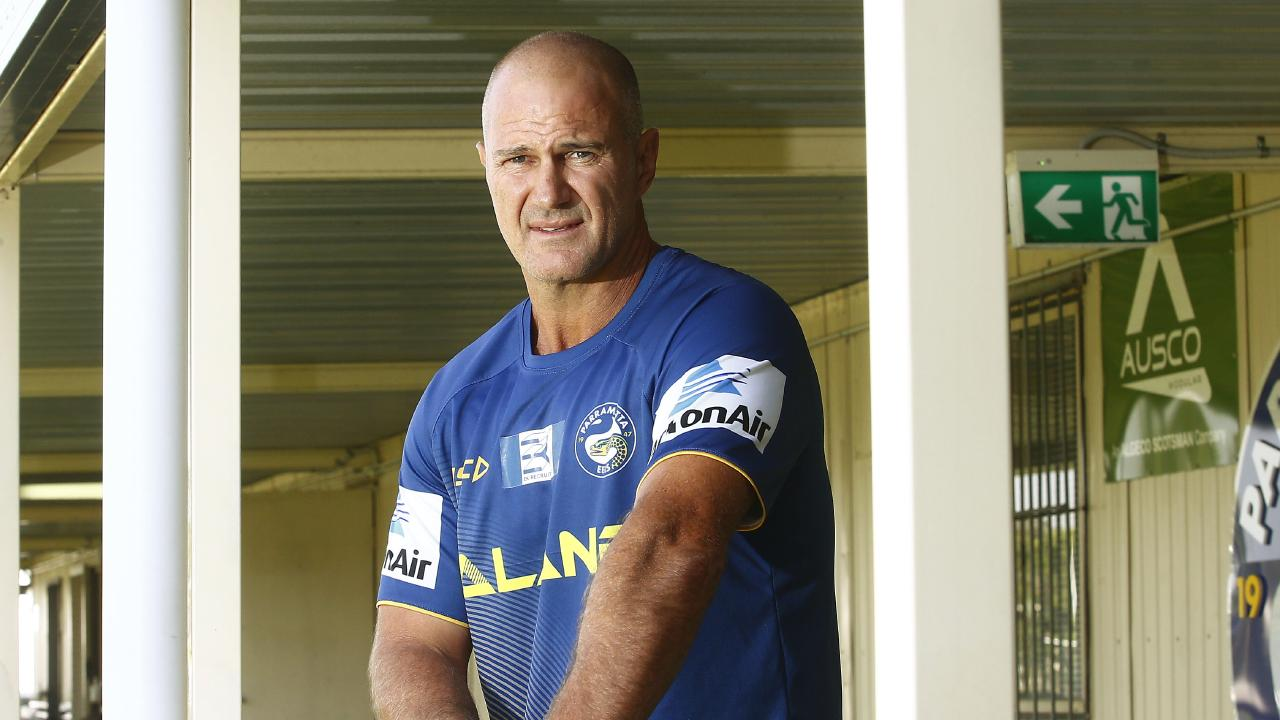 Parramatta Eels coach Brad Arthur is yet to be secured as the long term coach of the Eels.. Picture: John Appleyard