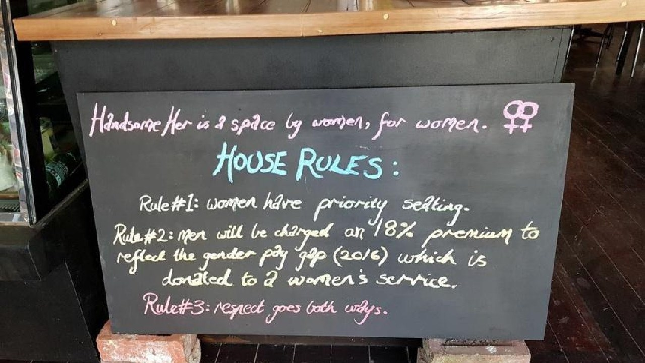 House Rules at Handsome Her weren't popular with everybody, but they weren't meant to be.