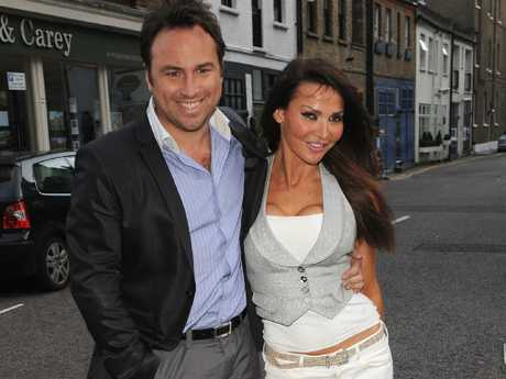 Jason Cundy was married to Lizzie during the height of his fame.