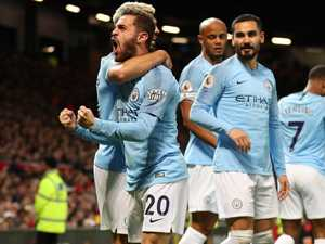 Advantage City as United let Liverpool down