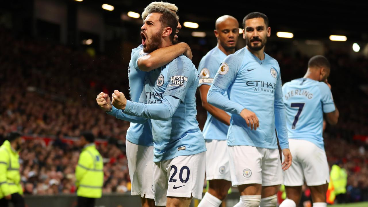 Bernardo Silva eased City nerves with the opening goal.