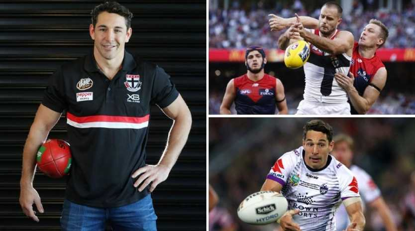 Nathan Brown says NRL great Billy Slater has had a profound impact at St Kilda.